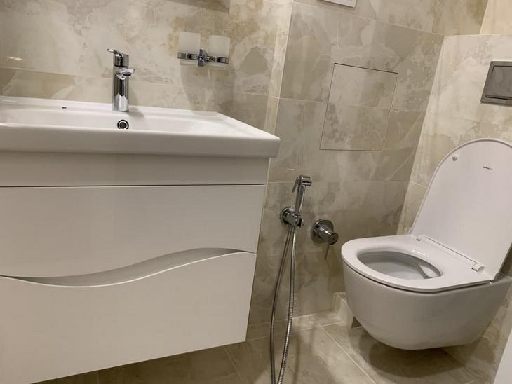 мийка унітазу дома